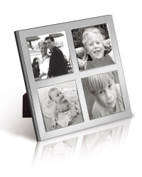 B4SQ Series - Contemporary Classic Style 4 Aperture Frame