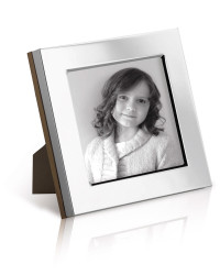 CSQ Series - Classic mahogany backed plain square photo frame