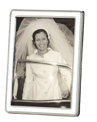Joan on her wedding day