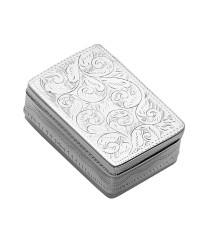 KSB1 Series - Engraved Rectangular Keepsake Box