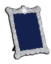 V Series – Victorian style rectangle silver photo frame
