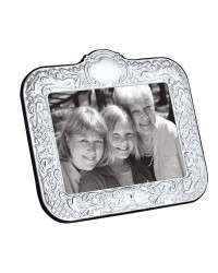 W Series - Victorian rectangle silver photo frame
